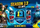 PUBG Mobile season 13 what to expect? Leakes | Release Date | Emotes