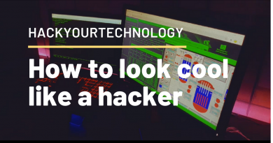 how to look cool like a hacker